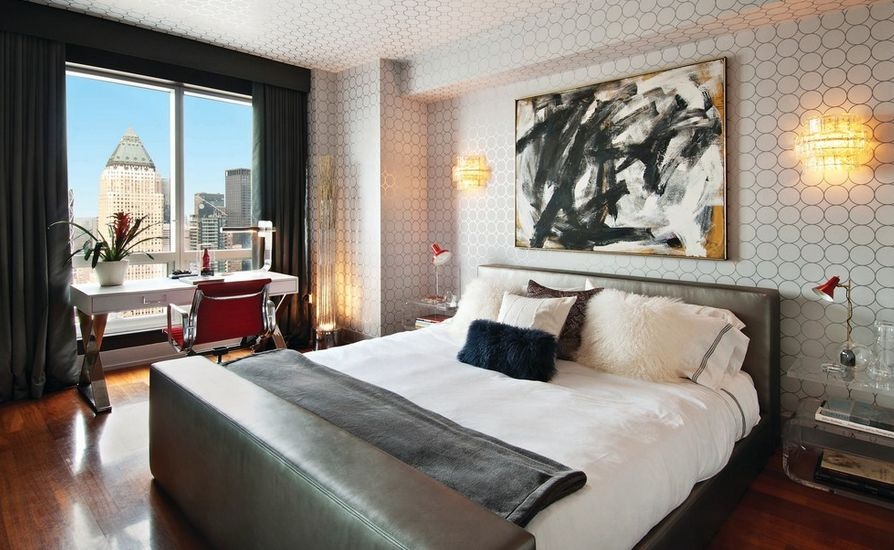 Abstract paintings for bedroom