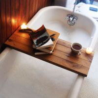 DIY Bathtub Tray Designs Fun To Make and Great To Use