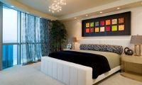 How To Give Character To A Bedroom With A Painting Over ...