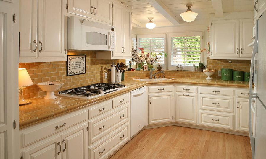 tile for kitchen countertops epoxy floor make a comeback know your options corner layout with tiles on countertop