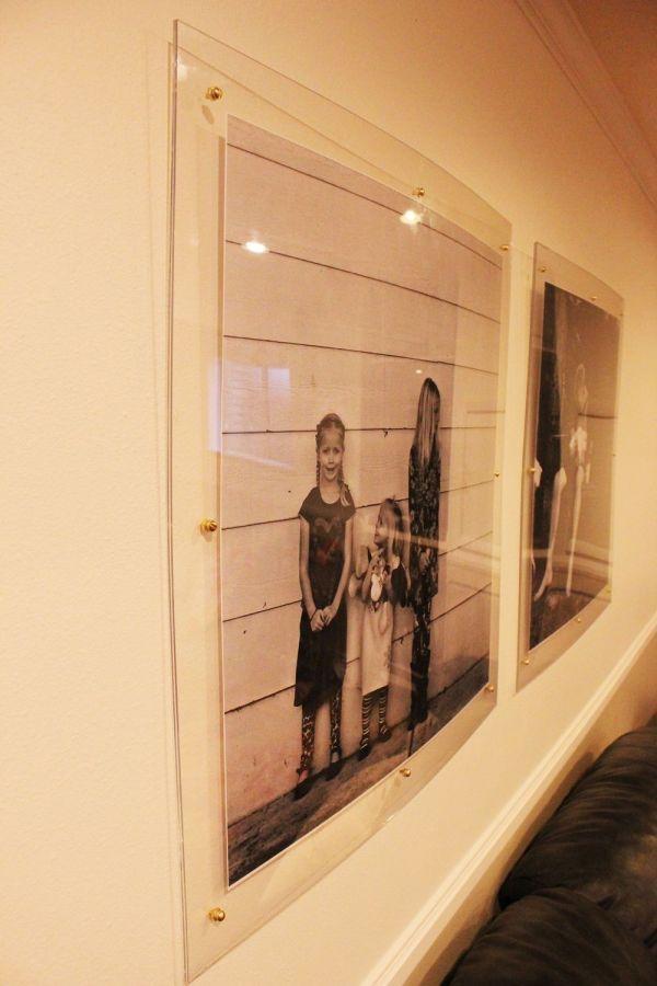 Diy Faux Acrylic Frames