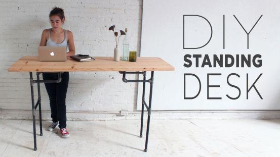 DIY Standing Desk Tutorial