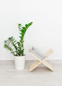 DIY Wooden Magazine Holder