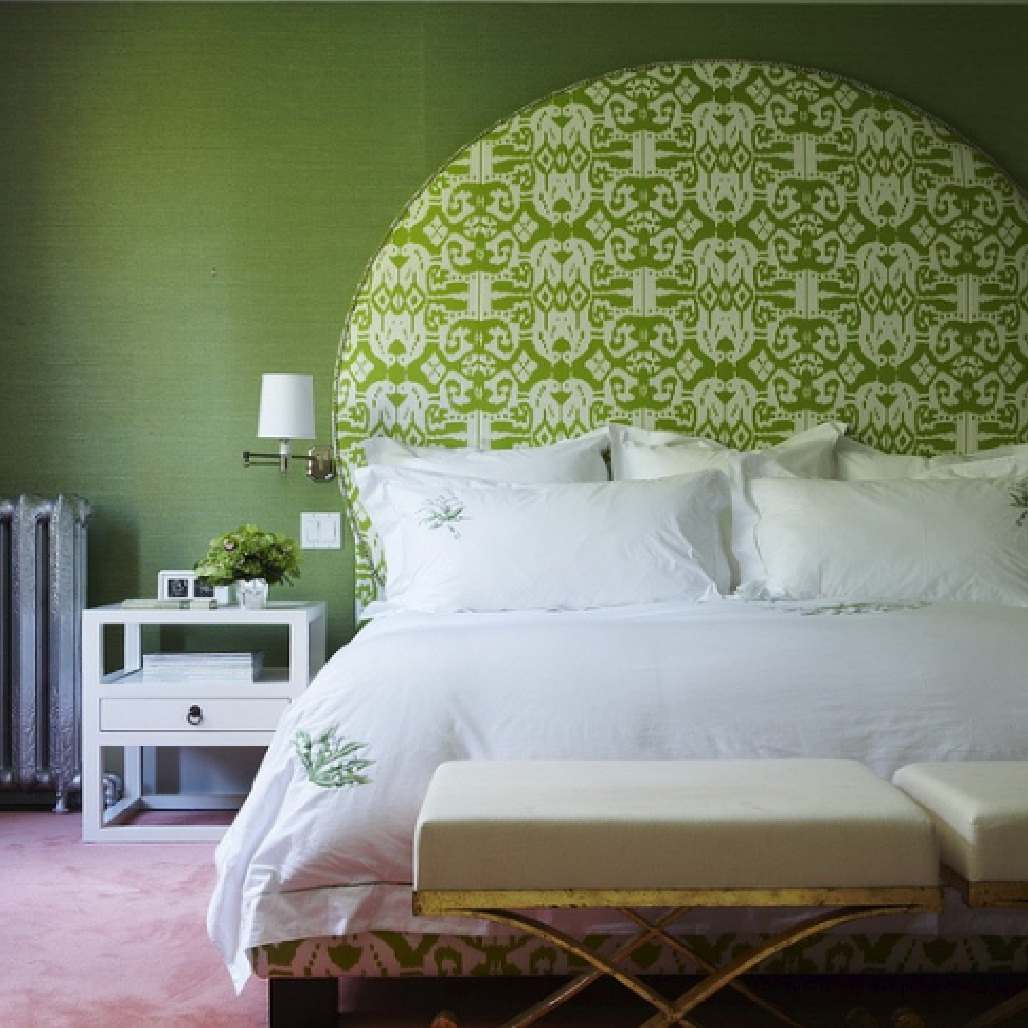 green bedroom color meaning color guide hgtv painting 10331 | fresh green monochromatic bedroom strip all