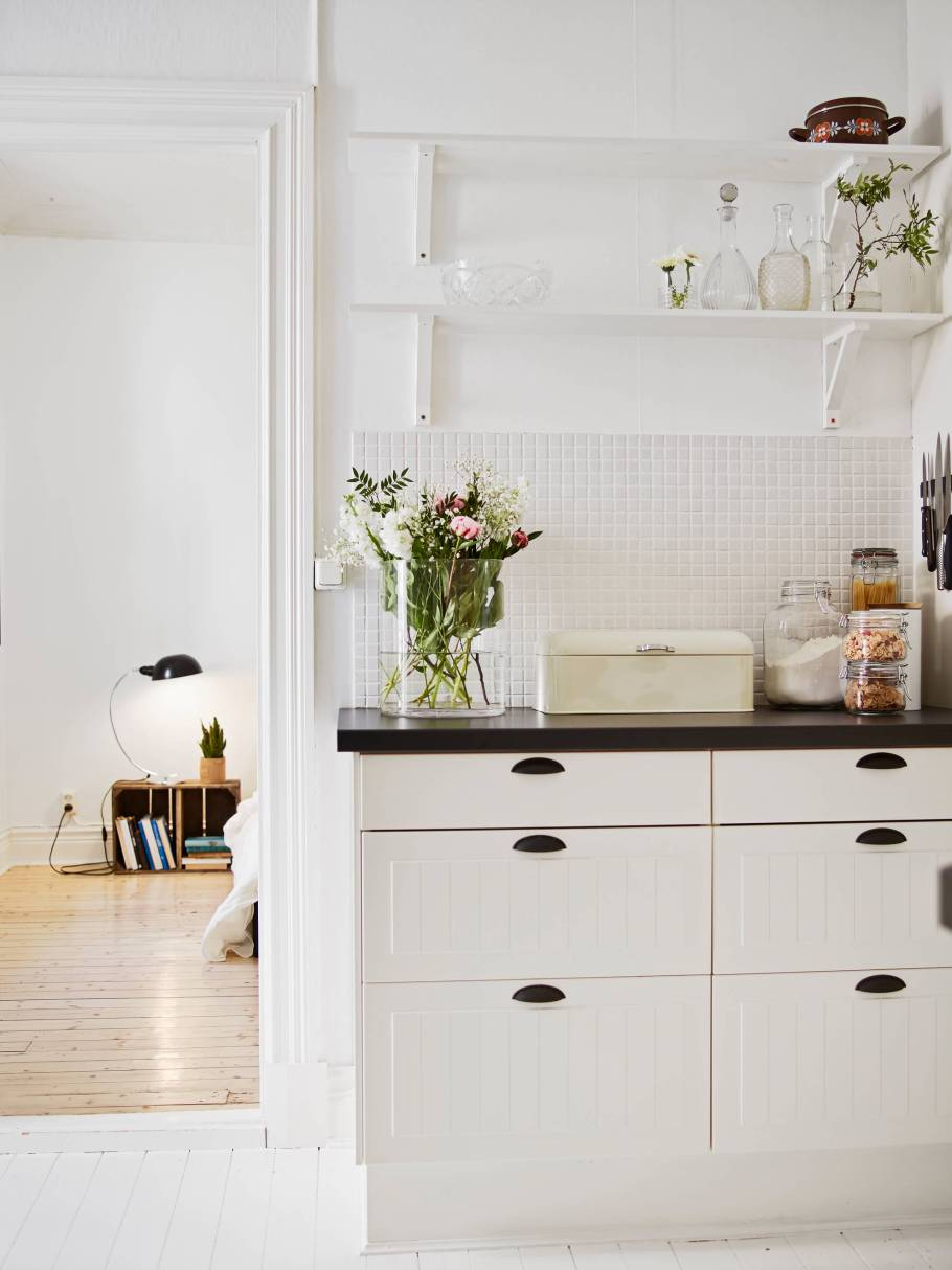 Open Shelves must have for Scandinavian design