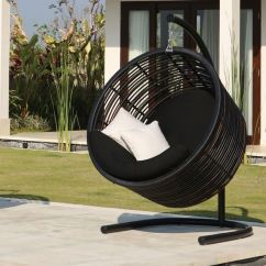 Swing Chair Metal Portable Toilet Modern Hanging Chairs Take The Coziness Outside Skyline Fabio