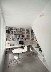 Modern Home Library Design Stand