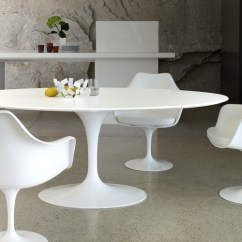 Retro Kitchen Table And Chairs Set Centerpiece The Bloom That Doesn't Fade: Saarinen's Tulip