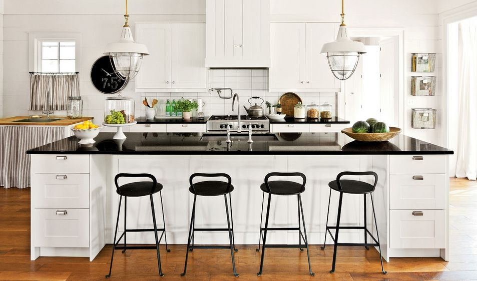 kitchen stools showrooms ma black and white bar how to choose use them farmhouse with