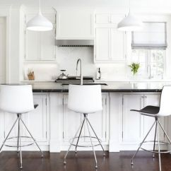 Kitchen Bar Chairs Shoes For Work In Black And White Stools How To Choose Use Them Traditional Modern