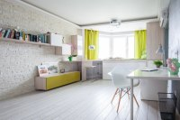 Small Apartment Gets A Fresh New Look That Suits It Like A ...