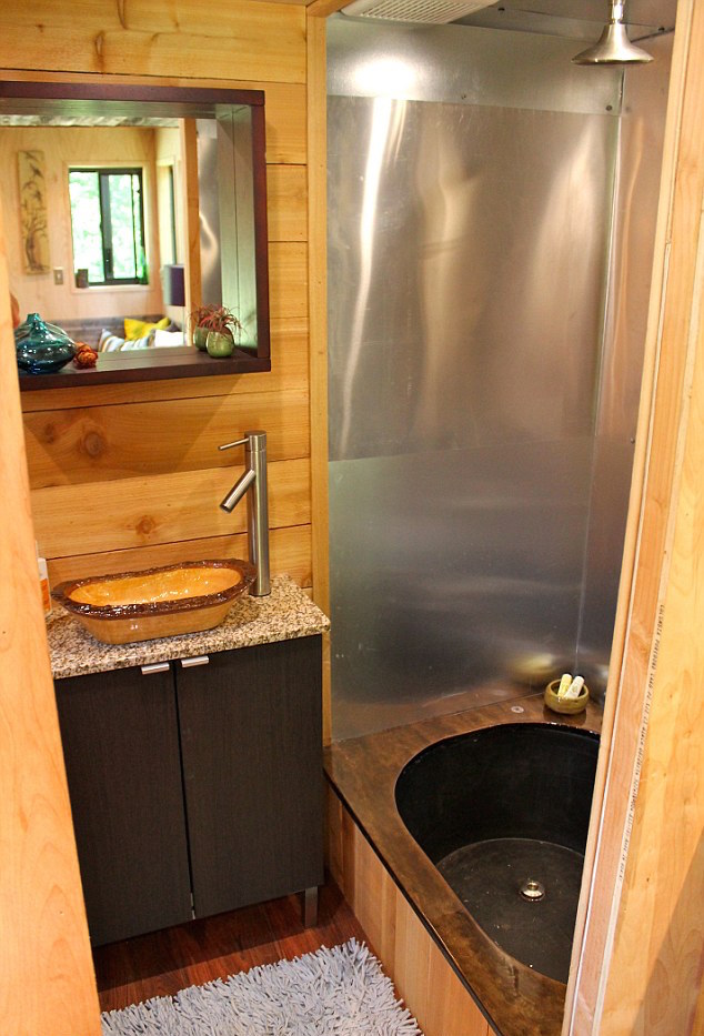 5 Shower Ideas For Tiny House RVs Tumbleweed Houses Tiny House
