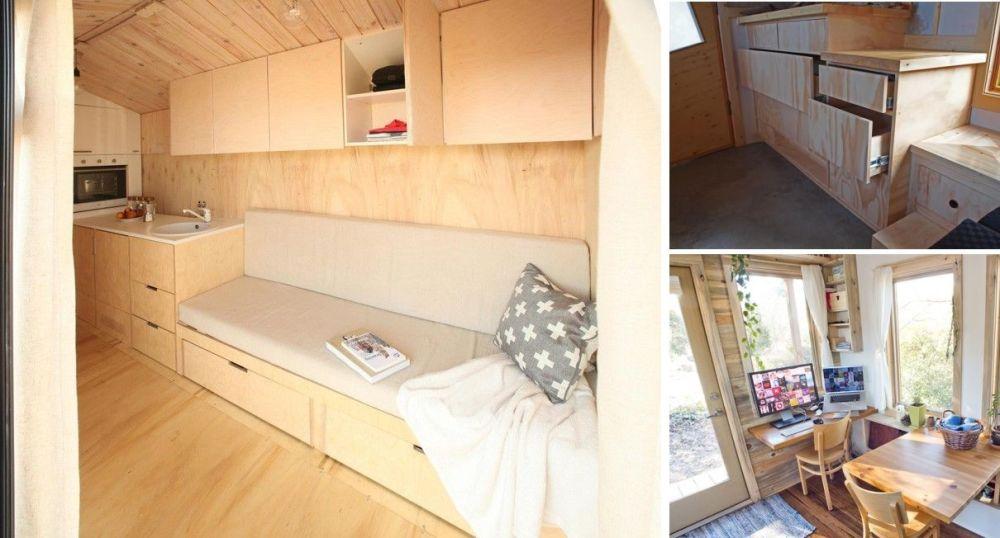 medium resolution of space saving furniture on tiny house on wheels