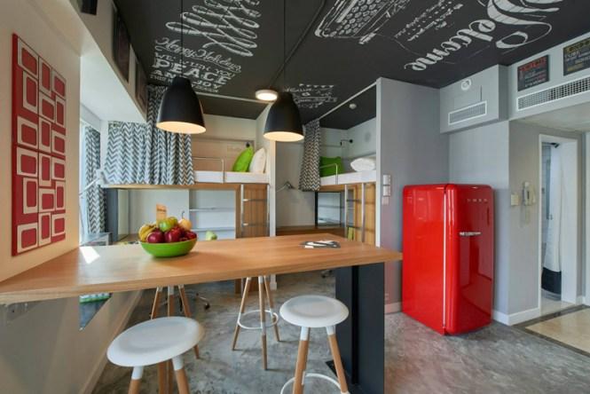 Student Apartment Complex Revitalizes E Efficiency
