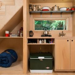 Tiny House Kitchens Island Chairs For Kitchen Live A Big Life In On Wheels Test Driving Living Custom Compact