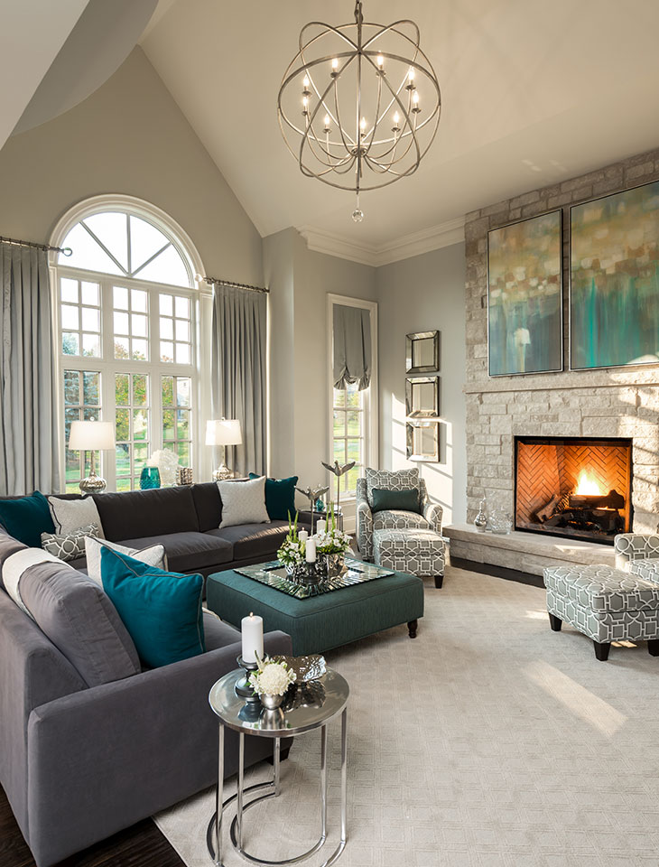 living room decorating pictures photos of rooms with dark brown sofas 20 trendy you can recreate at home family design