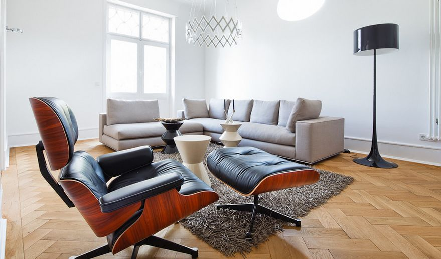 charles eames lounge chair herman miller embody used the iconic comfortable and versatile a very neutral space like this one really highlights warmth of wood for