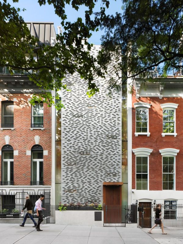 Perforated Building Facades Redefine Traditional