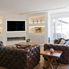 Large Corner Sofa In Small Living Room French Country Decor When And How To Place Your Tv The Of A
