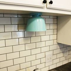 Light For Kitchen Cabinet Diy Lighting Upgrade Led Under Lights Above The Angle View Cabinets