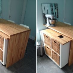 Diy Rolling Kitchen Island Sinks Stainless 10 Hacks For Your Expedit