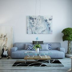 Modern Gray Living Room Blue And Ideas Grey In Home Decor Passing Trend Or Here To Stay Tones That Stand Alone