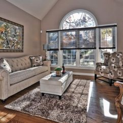 Gray And Taupe Living Room Seating Furniture Using To Create A Stylish Family Friendly Homey Home