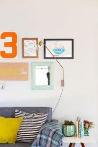 DIY Swing Sconce Lamp