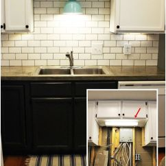 Kitchen Sink Without Cabinet Lysol Antibacterial Cleaner Diy Lighting Upgrade Led Under Lights Above The Light