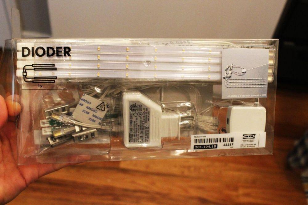 medium resolution of led lighting system for cabinets