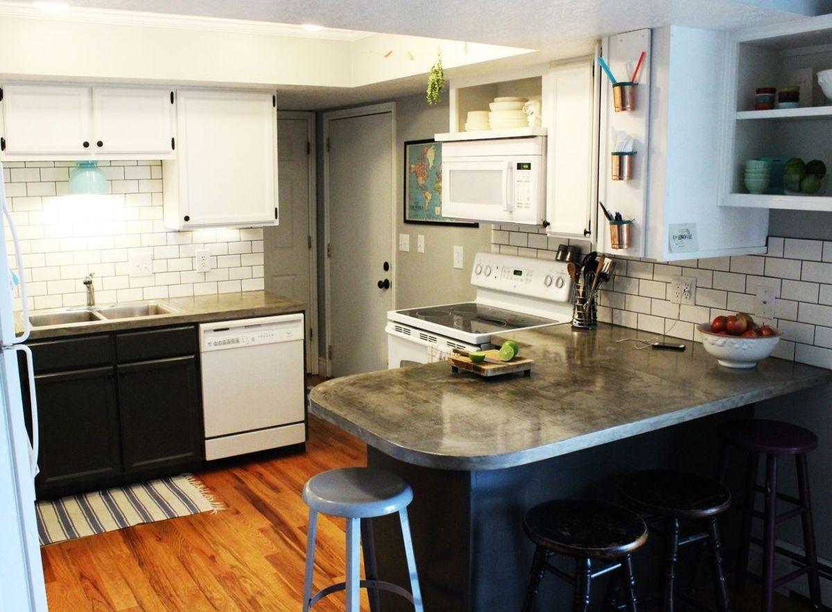 DIY Kitchen Lighting Upgrade LED Under Cabinet Lights & Above The