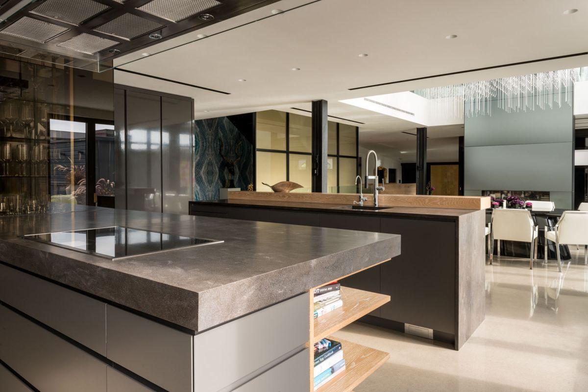 Redpath residence kitchen minimalism