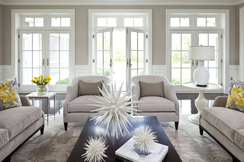 stylish family friendly living room