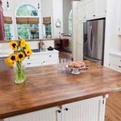 Wood Countertops Kitchen Macy Table Sets 20 Examples Of Stylish Butcher Block User Friendly Countertop