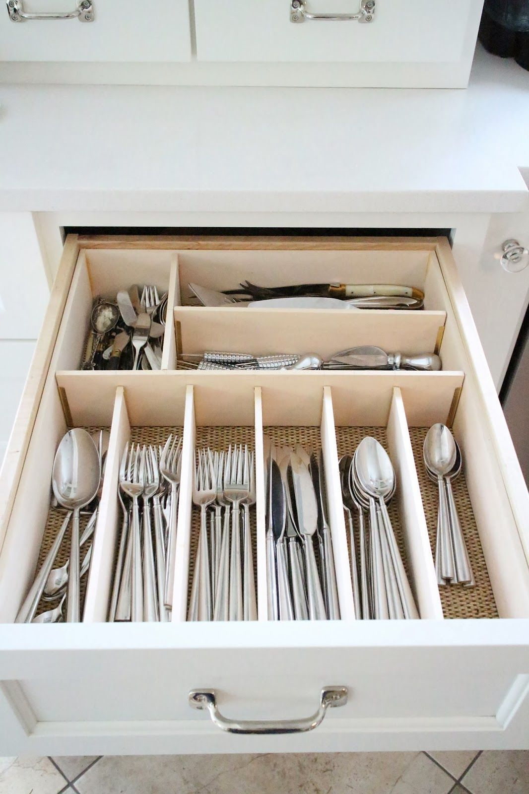 kitchen drawer organizer country range hoods organizing tips that keep the mess at bay