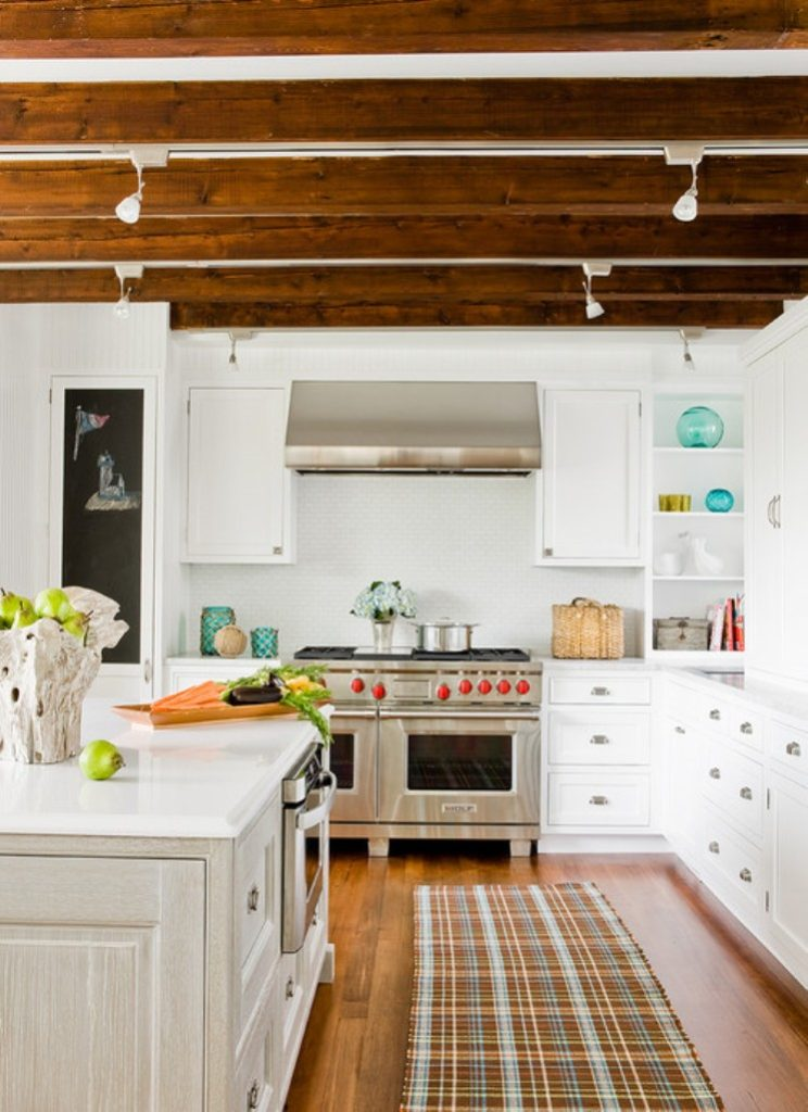 Beautiful Kitchen with Exposed Roof Beams  Home Decorating Trends  Homedit