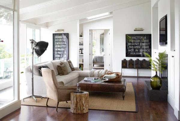 modern country living room decorating ideas How To Blend Modern and Country Styles Within Your Home's