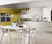contemporary kitchen colour schemes