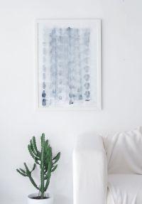 DIY Minimalist Canvas Art