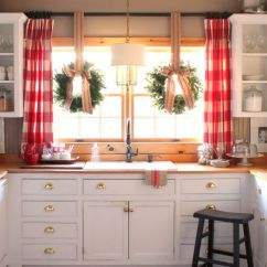Farmhouse Kitchen Cabinets Sprayer Hose 40 Elements To Utilize When Creating A Window Treatments