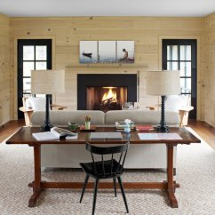 Country Style Home Decor Living Room Sconces For How To Blend Modern And Styles Within Your S Masculine Touch