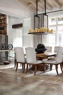 Modern Rustic Dining Room Decor