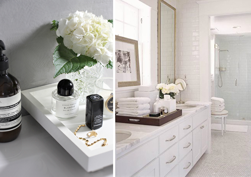 vanity trays for bathroom