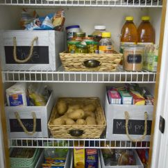 Kitchen Pantry Organizers Stainless Steel Table Organization Is Key To A Functional