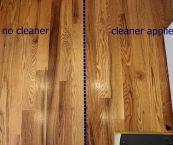 hardwood floor cleaning and polishing