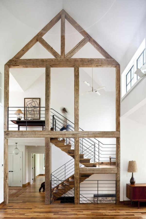 Expose Rusticity With Exposed Beams