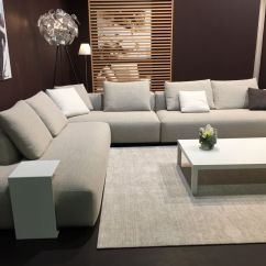 Grey Large L Shaped Sofa What Is A Modular Pros And Cons Of Monochromatic Décor
