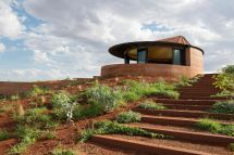 Underground Rammed Earth Home