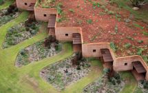 Underground Rammed Earth House