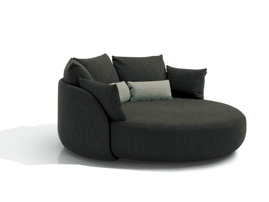 feather sofa cushions armen roxbury style roundup – decorating with round sofas and couches